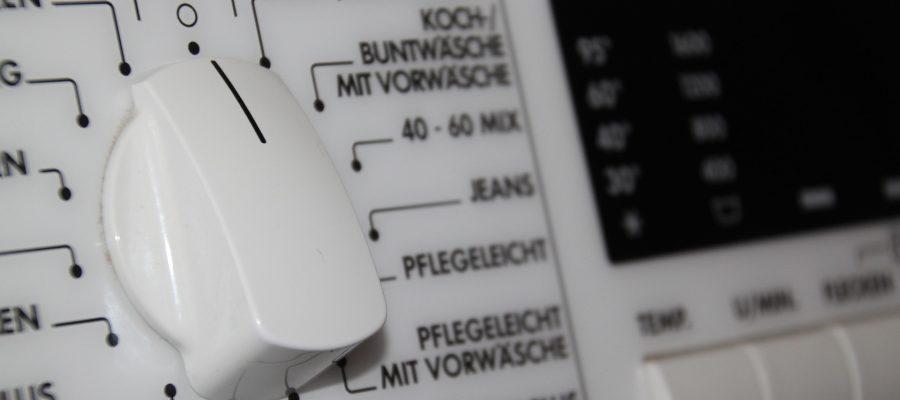 Waschmaschine Einstellungen